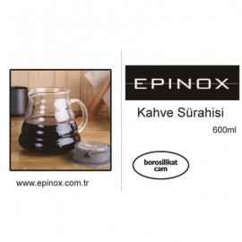 EPİNOX KAHVE SÜRAHİSİ 600 ML (KS-600)