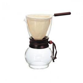 Hario Drip Pot Woodneck 3 CUP Kahve Demleme Ekipmanı