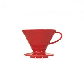 Hario V60 02 Dripper Kırmızı Plastik Kahve Demleme Ekipmanı