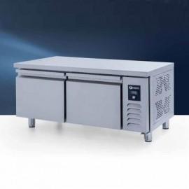 Iceinox UTN 190 CR Pişirici Altı Buzdolabı, Kısa, 2 Kapılı