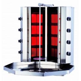 Kalitegaz KLG141-VG Gazlı Camlı Döner Ocağı Motorsuz V Model