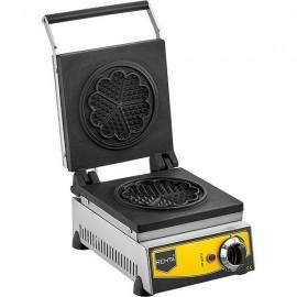 REMTA Çiçek Model Waffle Makinası Elektrikli 16 cm Çap