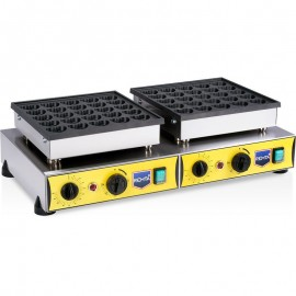 REMTA Çift Kapaklı Kalpli Bubble Waffle Makinası Elektrikli