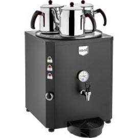 REMTA 3 Demlikli Jumbo Çay Makinesi 40 lt Şamandıralı (Damacanadan Su Alma)