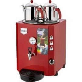 REMTA 2 Demlikli Jumbo Çay Makinesi 23 lt Şamandıralı (Damacanadan Su Alma)