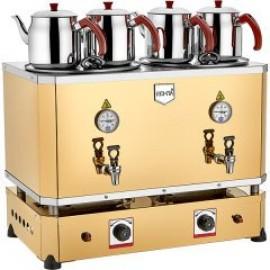 REMTA 4 Demlikli Jumbo Çay Makinesi 46 lt Gazlı